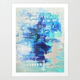 Walked on Water Art Print