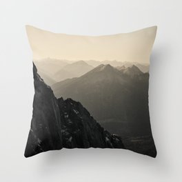 Mountain Side Color Photography Germany Europe Nature Throw Pillow