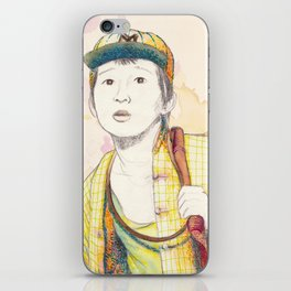 Short Round - Secondary character? Never! iPhone Skin