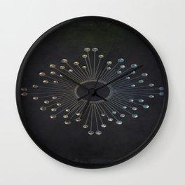 """beyond surface"" Wall Clock"