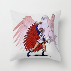 Teela Na Throw Pillow