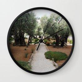 Garden Of Gethsemane Wall Clock