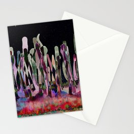 Dripping Spectral Forest Stationery Cards