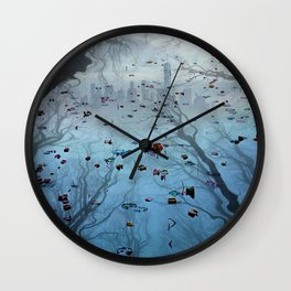 The Wishing Pond Is Full...And Strong Wall Clock