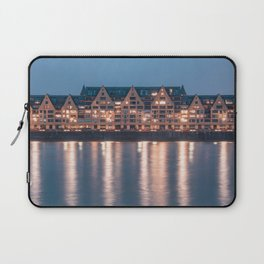 Architecture at night Laptop Sleeve
