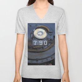 Lokomotive No 790 - Illinois Central Unisex V-Neck