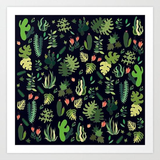tropical! Art Print