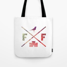 Flying Fortress (Experimental) Tote Bag