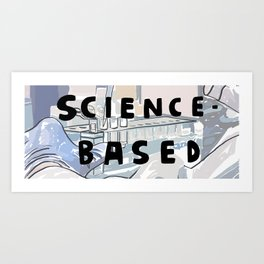 7 Banned Words: Science-based Art Print