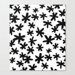 Secret Buttholes - WHITE Canvas Print