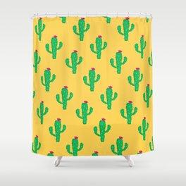 Pattern #13 B: Cactus Shower Curtain