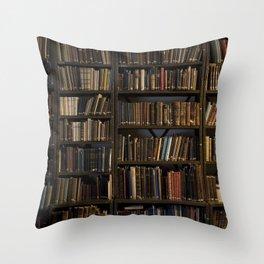 Library books Throw Pillow