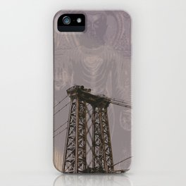 Buddha Bridge iPhone Case