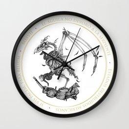 Orgullo nacional Wall Clock