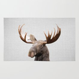 Moose - Colorful Rug
