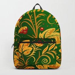 Russian ornament Backpack