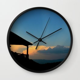 Sweet Silhouette * Little Switzerland  Wall Clock