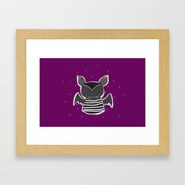 + BAT + Framed Art Print