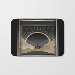 Art deco design V Bath Mat