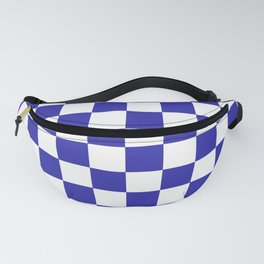 Checkered (Navy & White Pattern) Fanny Pack