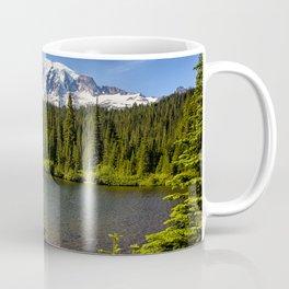 Wildflower Color by Reflection Lake and Mt Rainier, No. 2 Coffee Mug
