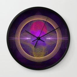 Abstract Art - Circuitry Wall Clock