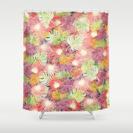 Tropical Leaves #03 Shower Curtain