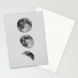 Moon Phase Wall Art Moon Home Decor Moon Phases Nursery Decor Poster Minimalist Print Gothic Boho Stationery Cards