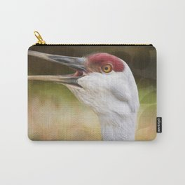 Bird Art - Look Who's Talking Carry-All Pouch