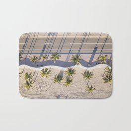 Fort Lauderdale beach from aerial point of view Bath Mat