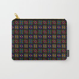 Kente Cloth Ankara Stained Glass Pattern Carry-All Pouch
