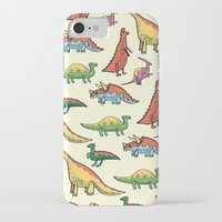 dinosaurs iPhone & iPod Cases featuring DINOSAURS! by Sonny Ross