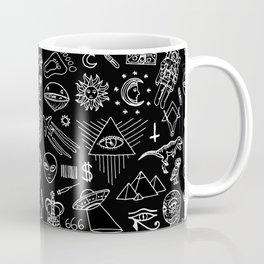 Conspiracy pattern (Censored version) Coffee Mug