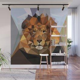 Lion Techy Art Wall Mural