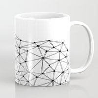 polygon Mugs featuring Polygon by Boneva