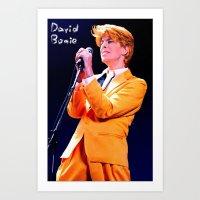 David Concert Poster Art Print