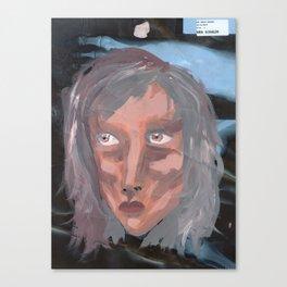 Xray portrait 1 Canvas Print