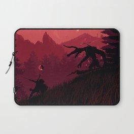 Under A Blood Moon Laptop Sleeve
