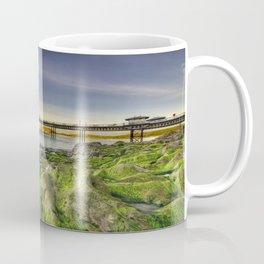 Pier Sunset Coffee Mug