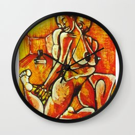 2011 let me love you down Wall Clock