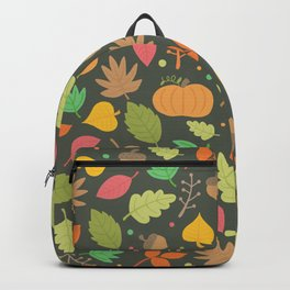 Thanksgiving pattern Backpack