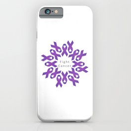 World Cancer Day to raise awareness and prevent cancer iPhone Case