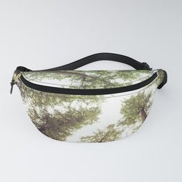 Green Forest Sky Trees Fanny Pack