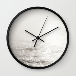 Sun drops. Wall Clock