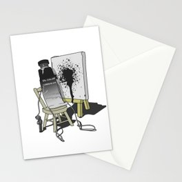 Suicidal Paint Stationery Cards