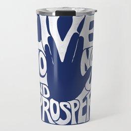 Live Long and Prosper Travel Mug