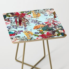 Floral and Birds XXXIV Side Table
