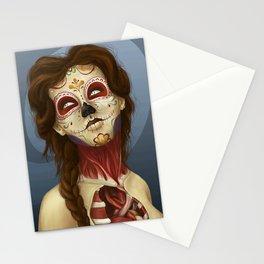 Feliz día de los Muertos Stationery Cards