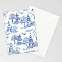 Pagoda Leopards Stationery Cards