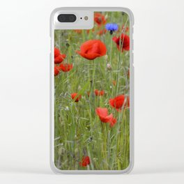 sommerwiese Clear iPhone Case
